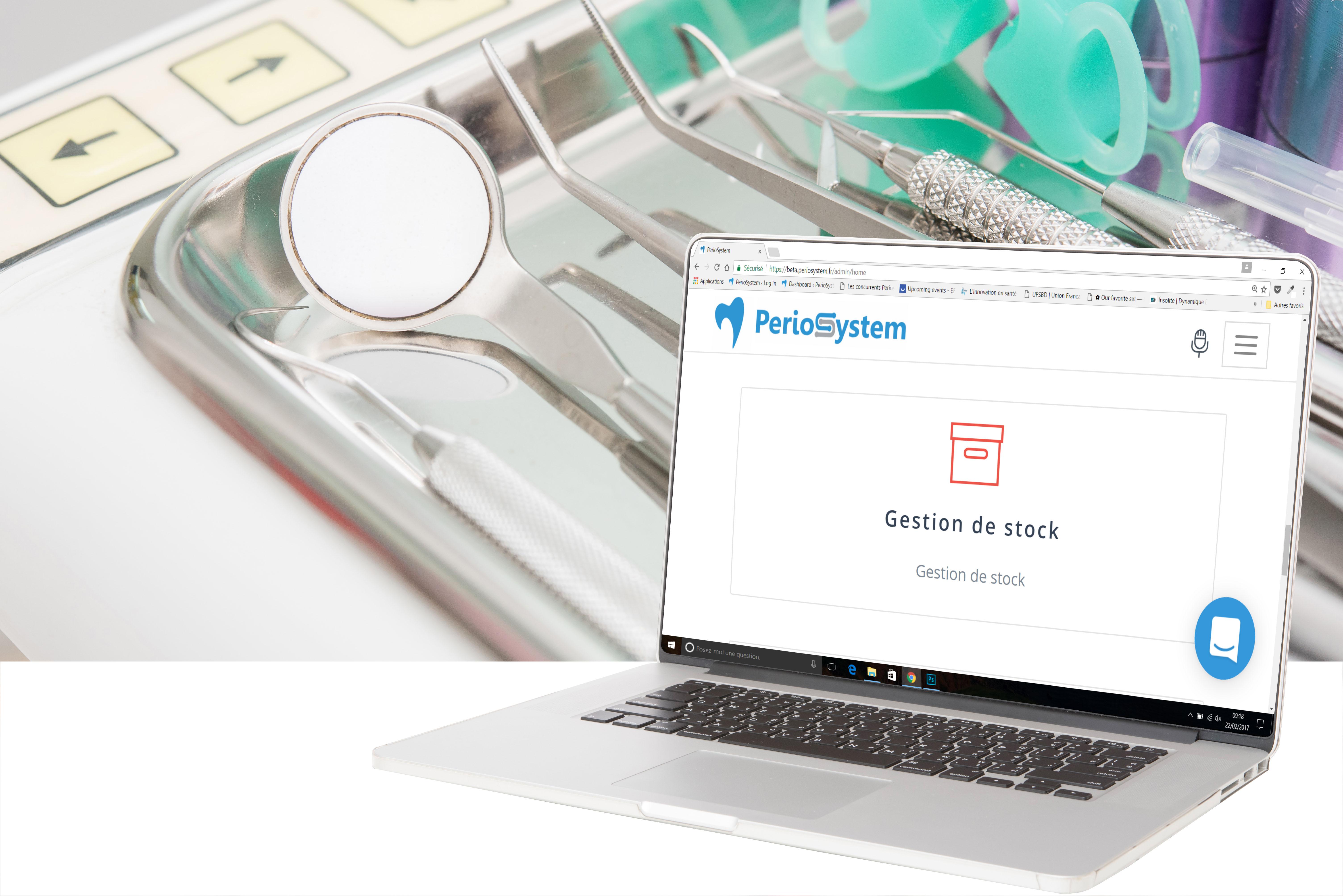 gestion des stocks de cabinet dentaire periosystem